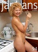 Rita drinking water