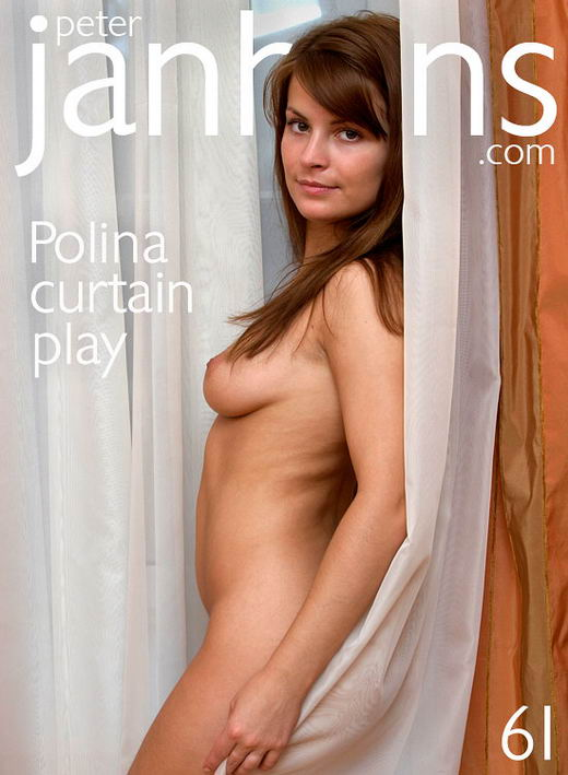 Polina - `Curtain Play` - by Peter Janhans for PETERJANHANS
