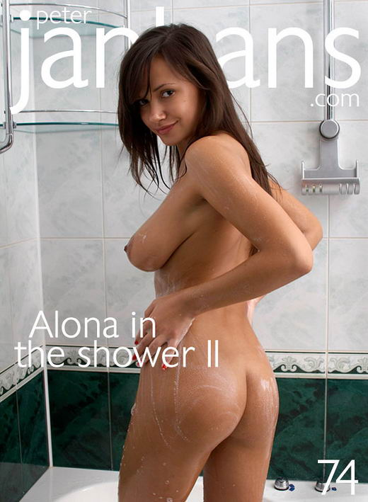 Alona - `Alona in the Shower - Part II` - by Peter Janhans for PETERJANHANS
