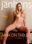 Jana On Table