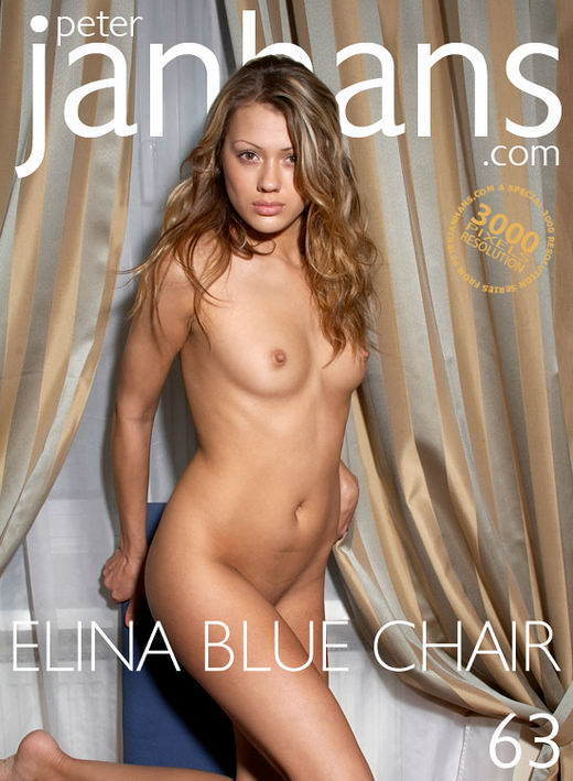 Elina - `Blue Chair` - by Peter Janhans for PETERJANHANS