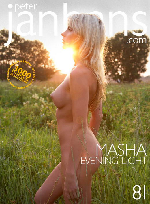 Masha - `Evening Light` - by Peter Janhans for PETERJANHANS