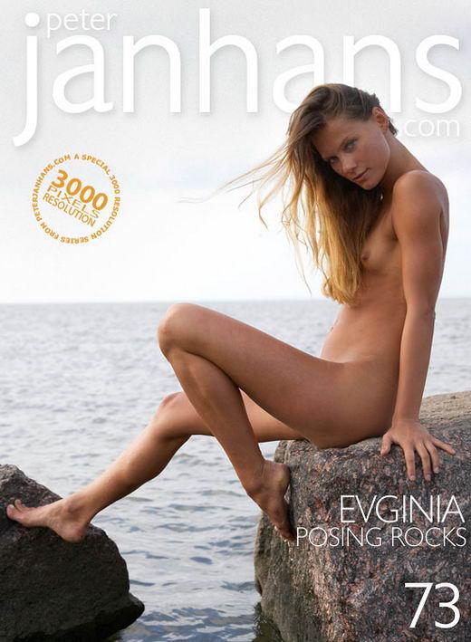 Evginia - `Posing Rocks` - by Peter Janhans for PETERJANHANS