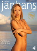 Oksana in Sea & Sky gallery from PETERJANHANS by Peter Janhans