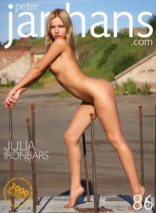 Julia - `Iron Bars` - by Peter Janhans for PETERJANHANS