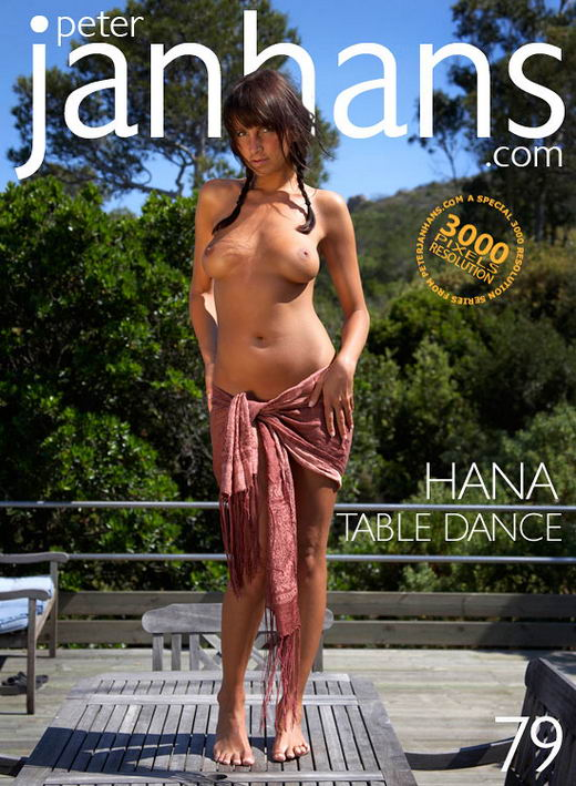 Hana - `Table Dance` - by Peter Janhans for PETERJANHANS