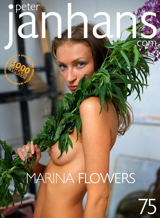 Marina - `Flowers` - by Peter Janhans for PETERJANHANS