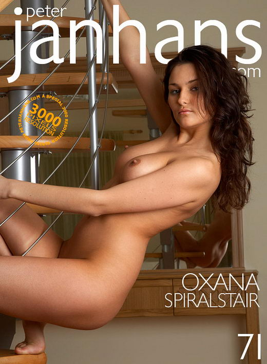 Oxana - `Spiral Stair` - by Peter Janhans for PETERJANHANS