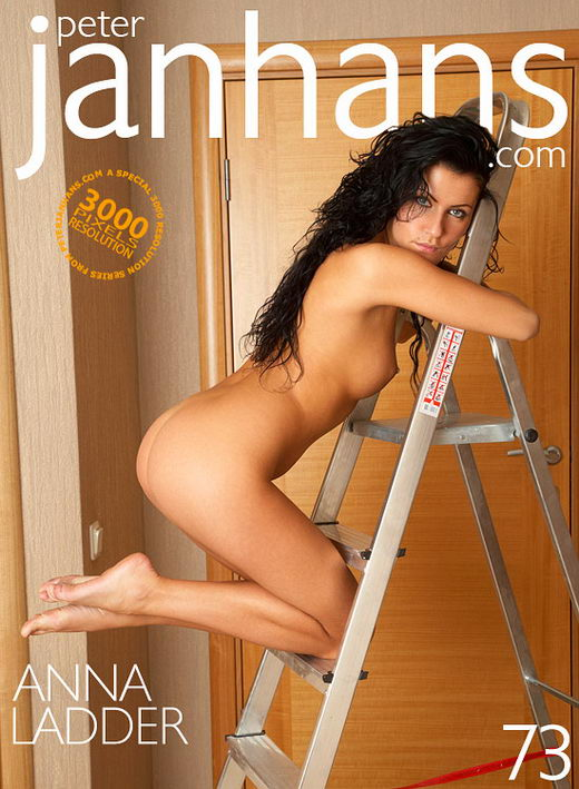 Anna - `Ladder` - by Peter Janhans for PETERJANHANS