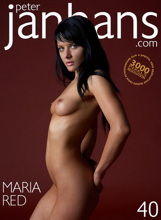 Maria - `Red` - by Peter Janhans for PETERJANHANS