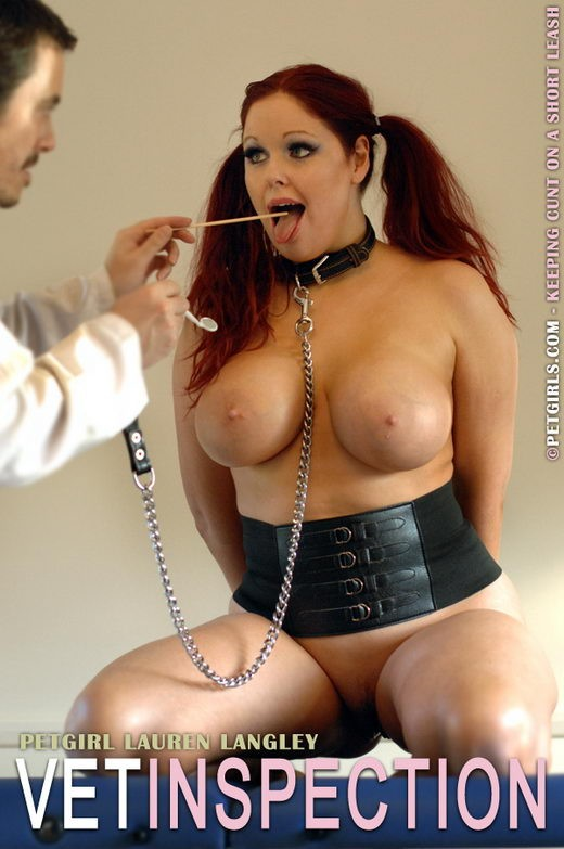 Lauren Langley - `Vet Inspection` - for PETGIRLS