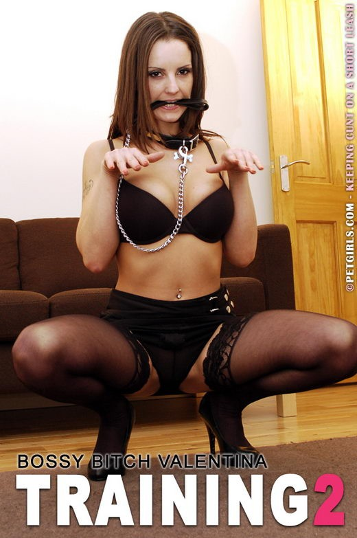 Valentina - `Training 2` - for PETGIRLS
