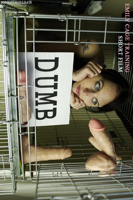 Emily - `Cage Training` - for PETGIRLS