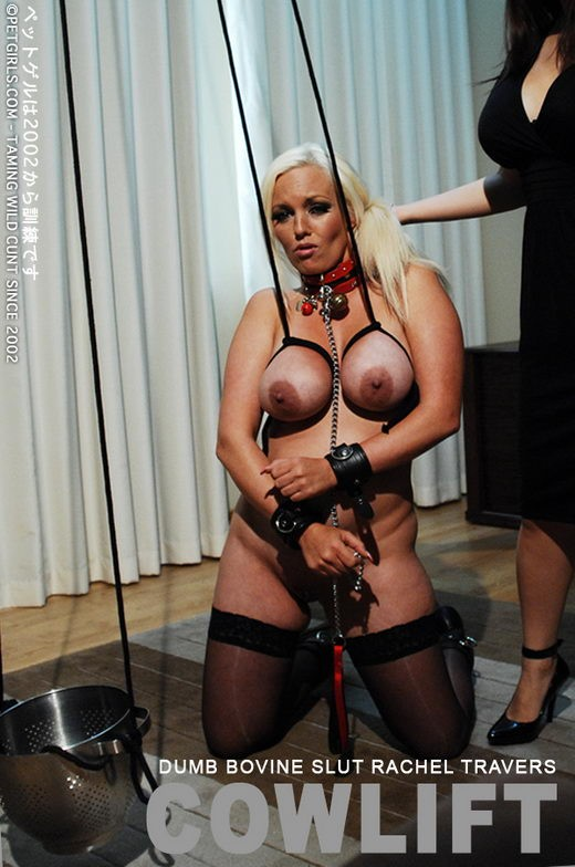 Rachel Travers - `CowLift` - for PETGIRLS