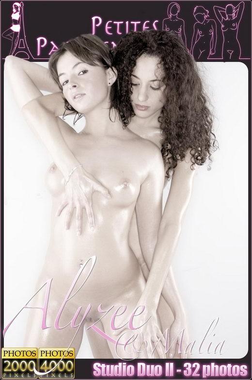 Alyzee & Malia - `Studio Duo II` - for PETITES PARISIENNES