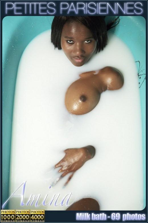 Amina - `Milk Bath` - for PETITES PARISIENNES