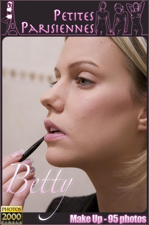 Betty - `Make Up` - by Jam Abelanet for PETITES PARISIENNES