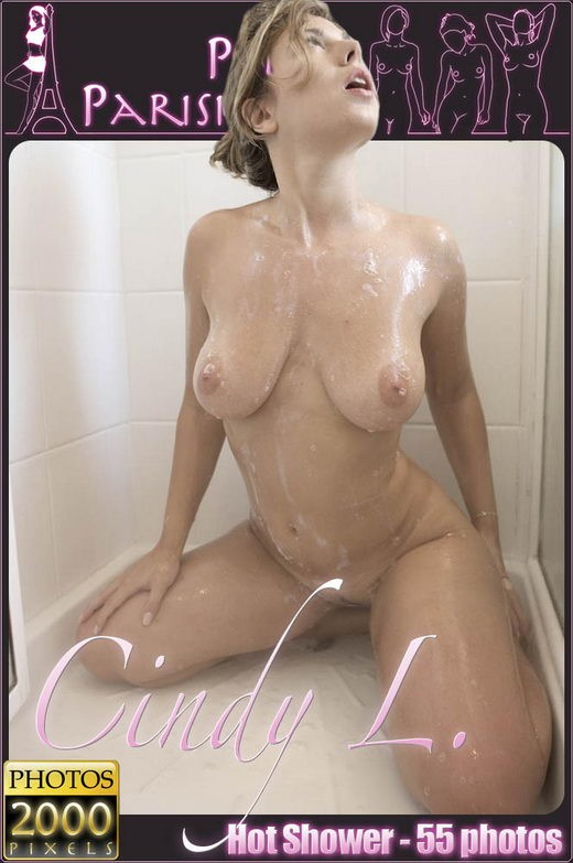 Cindy L - `Hot Shower` - for PETITES PARISIENNES