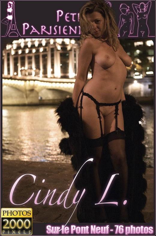 Cindy L - `Sur le Pont Neuf` - for PETITES PARISIENNES