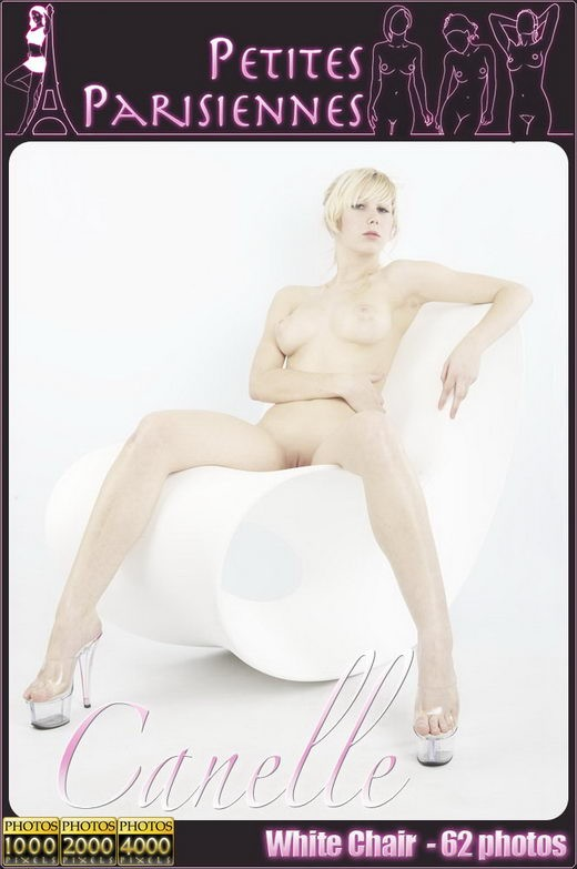 Canelle - `White Chair` - by Jam Abelanet for PETITES PARISIENNES