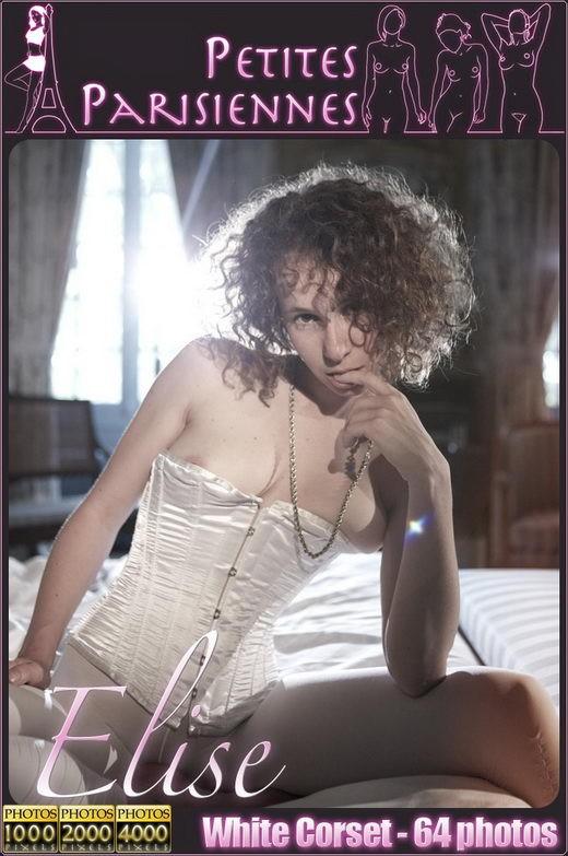 Elise - `White Corset` - by Jam Abelanet for PETITES PARISIENNES