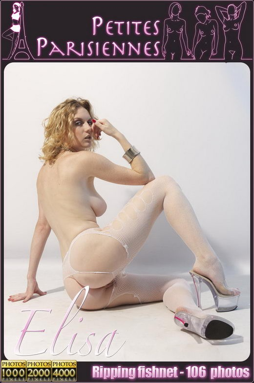Elisa in Ripping Fishnet gallery from PETITES PARISIENNES by Jam Abelanet