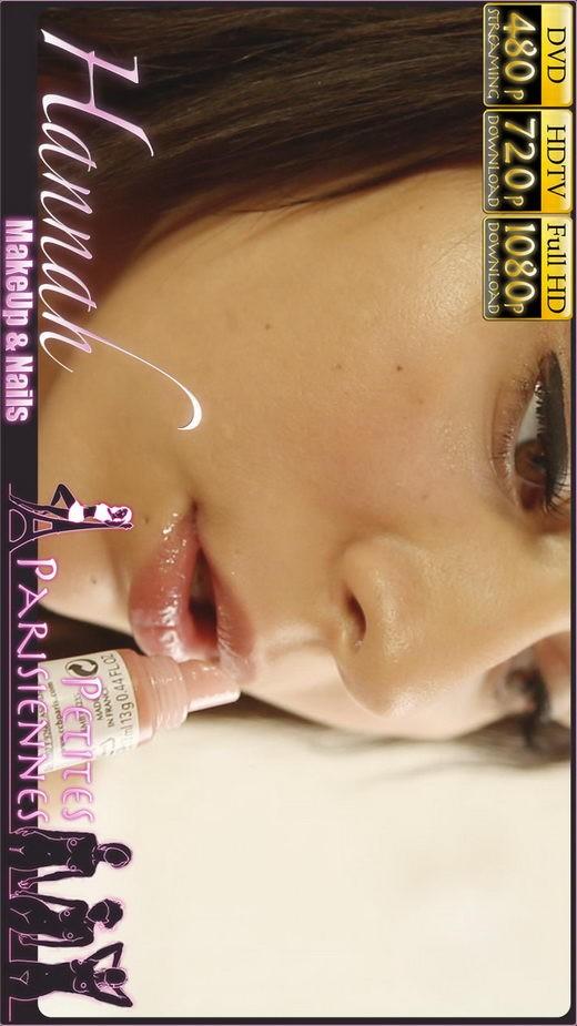 Hannah - `MakeUp & Nails` - by Jam Abelanet for PETITES PARISIENNES