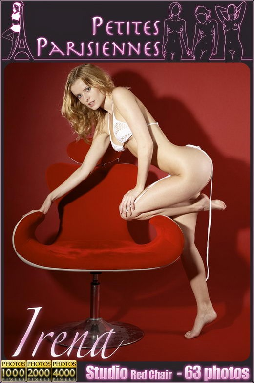 Irena - `Studio Red Chair` - by Jam Abelanet for PETITES PARISIENNES