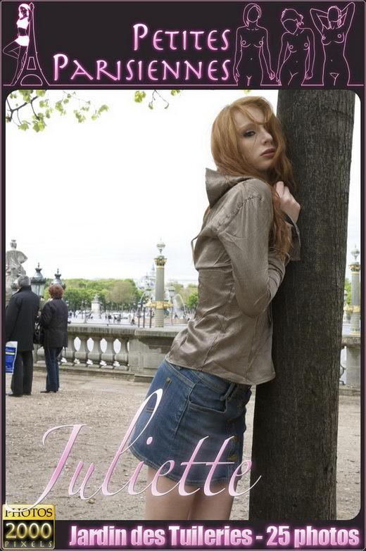 Juliette - `Jardin des Tuileries` - for PETITES PARISIENNES