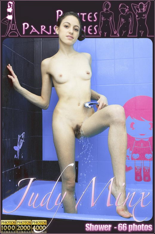 Judy Minx in Shower gallery from PETITES PARISIENNES by Jam Abelanet