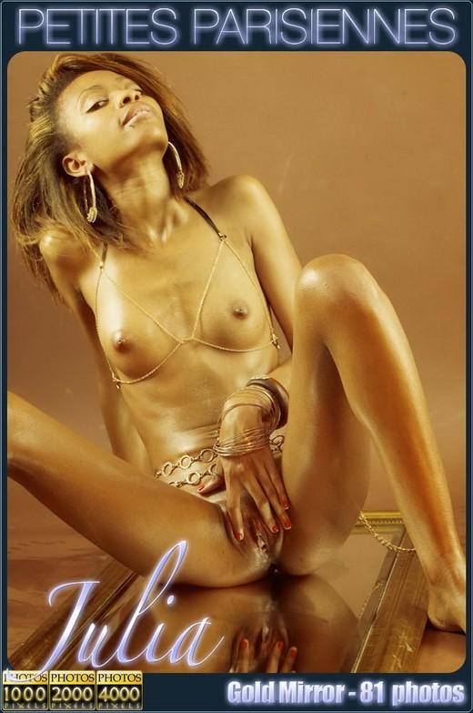 Julia - `Gold Mirror` - for PETITES PARISIENNES