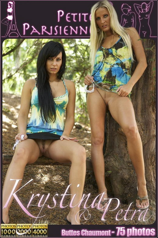 Krystina & Petra - `In the Shower` - by Jam Abelanet for PETITES PARISIENNES