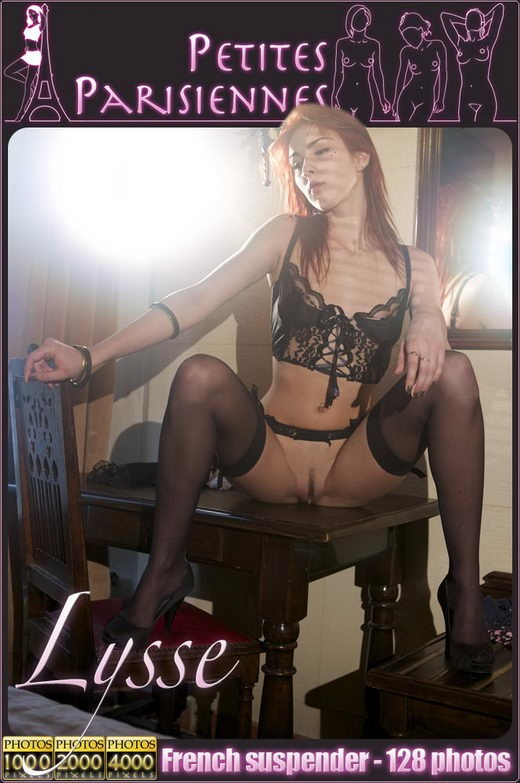 Lysse - `French Suspender` - by Jam Abelanet for PETITES PARISIENNES