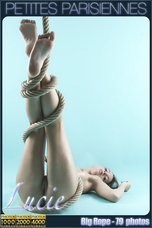 Lucie - `Big Rope` - by Jam Abelanet for PETITES PARISIENNES