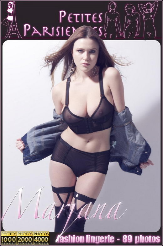 Marjana - `Fashion Lingerie` - by Jam Abelanet for PETITES PARISIENNES