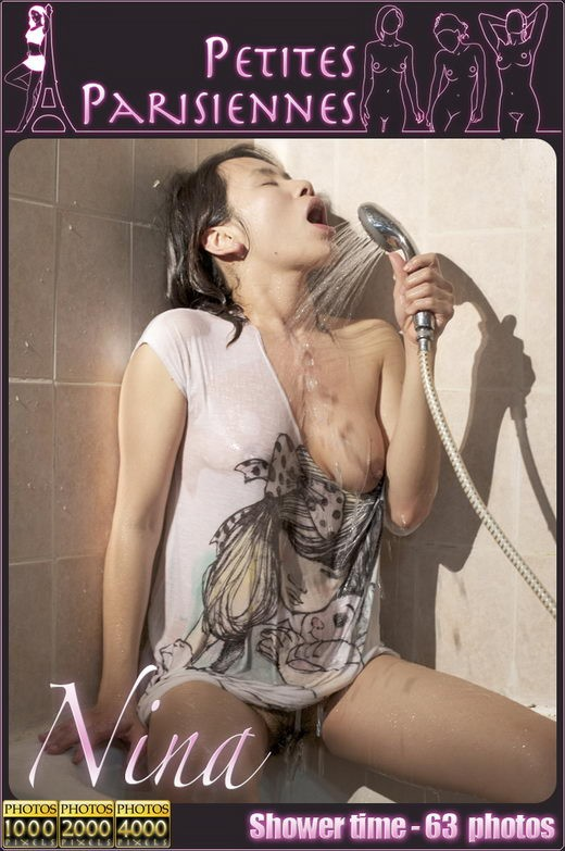 Nina - `Shower Time` - by Jam Abelanet for PETITES PARISIENNES