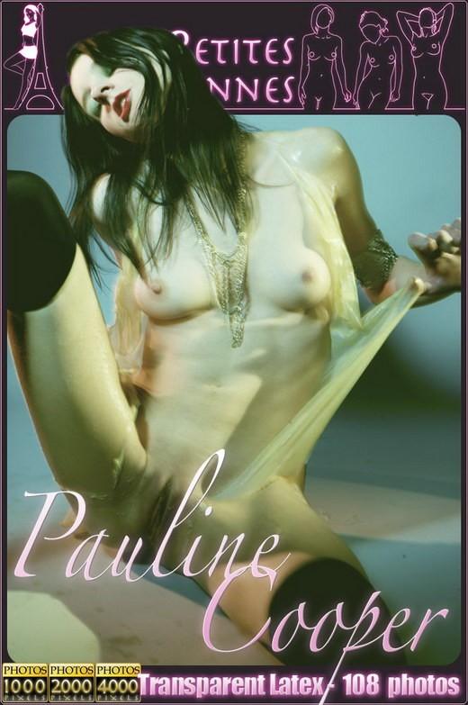 Pauline Cooper - `Transparent Latex` - by Jam Abelanet for PETITES PARISIENNES