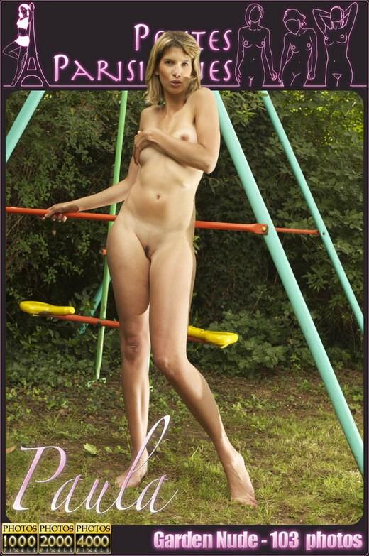 Paula - `Garden Nude` - by Jam Abelanet for PETITES PARISIENNES