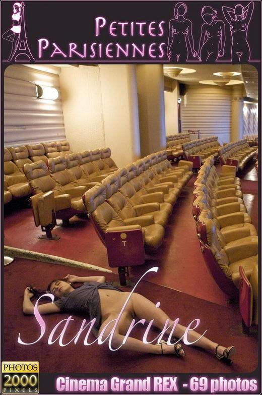 Sandrine - `Cinema Grand REX` - for PETITES PARISIENNES