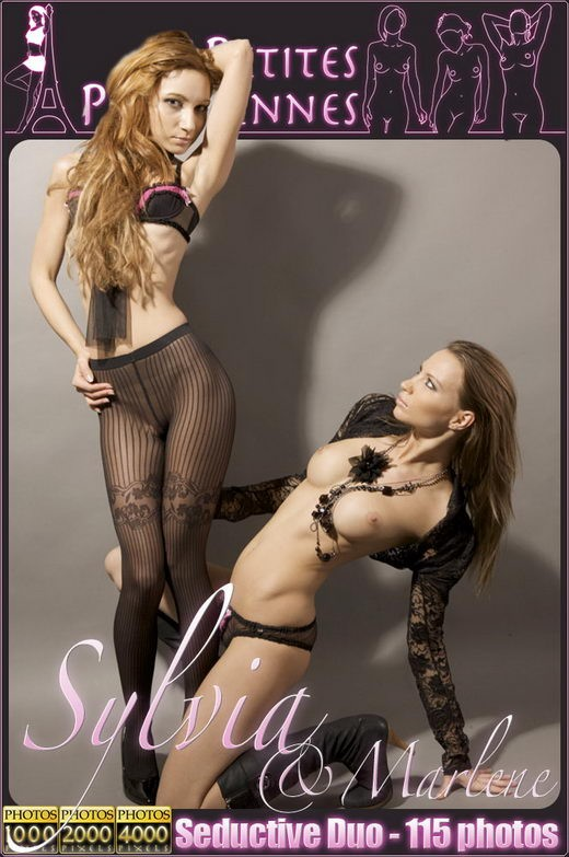 Sylvia - `Seductive Duo` - by Jam Abelanet for PETITES PARISIENNES