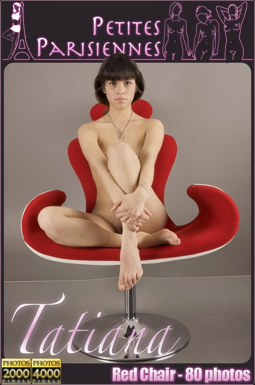 Tatiana - `Red Chair` - for PETITES PARISIENNES