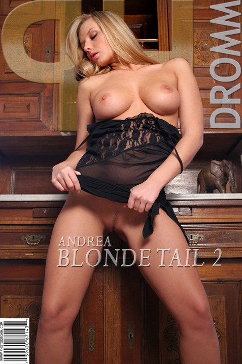 Andrea - `Blonde Tail 2` - by Filippo Sano for PHOTODROMM ARCHIVES