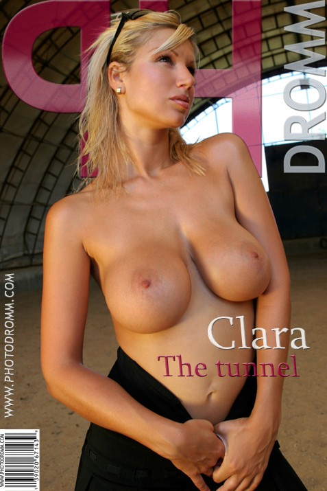 Clara - `The Tunnel` - by Filippo Sano for PHOTODROMM ARCHIVES