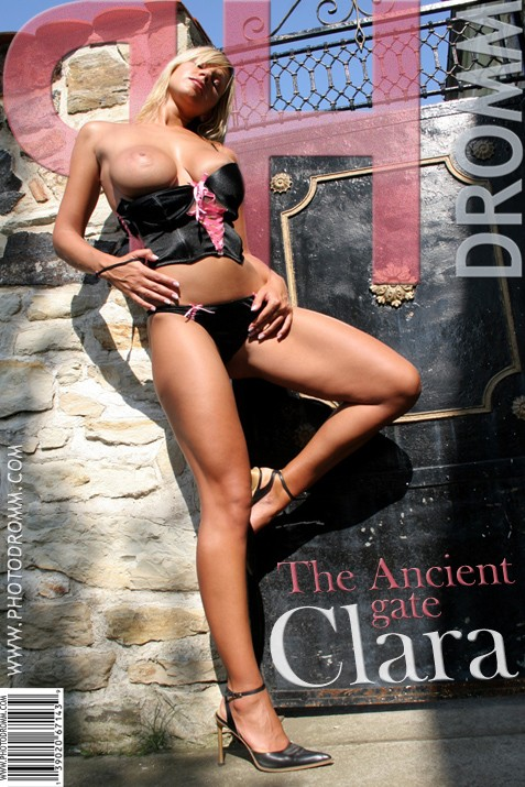 Clara - `The Ancient Gate` - by Filippo Sano for PHOTODROMM ARCHIVES