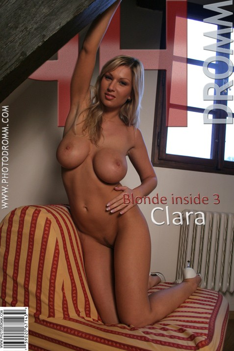 Clara - `Blonde Inside 3` - by Filippo Sano for PHOTODROMM ARCHIVES