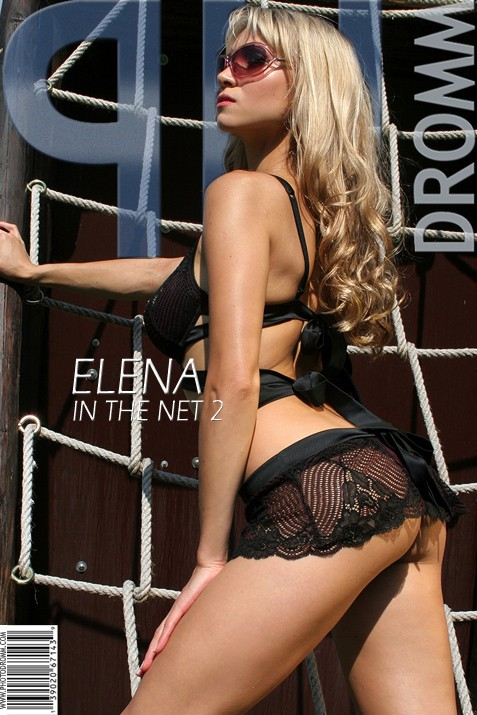 Elena - `In The Net 2` - by Filippo Sano for PHOTODROMM ARCHIVES
