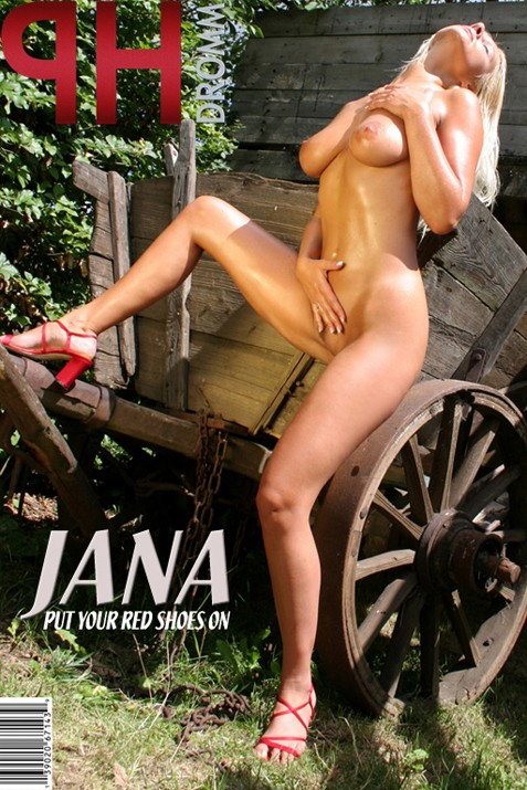 Jana - `Put Your Red Shoes On` - by Filippo Sano for PHOTODROMM ARCHIVES