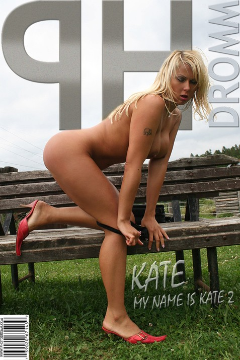 Kate - `My Name Is Kate 2` - by Filippo Sano for PHOTODROMM ARCHIVES