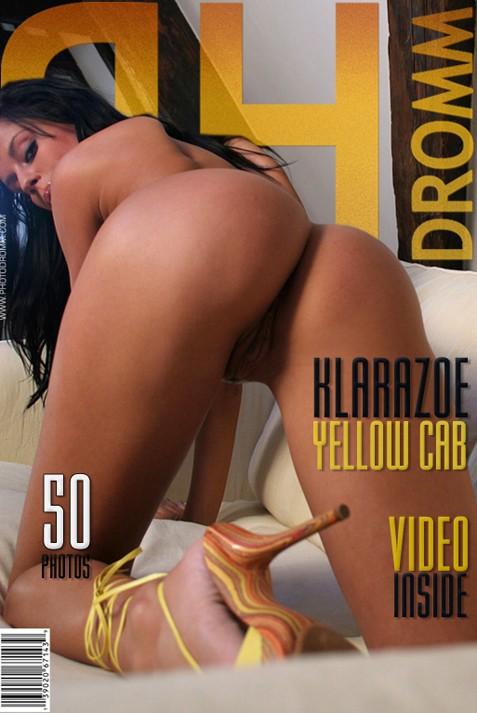 Klarazoe - `Yellow Cab` - by Filippo Sano for PHOTODROMM ARCHIVES