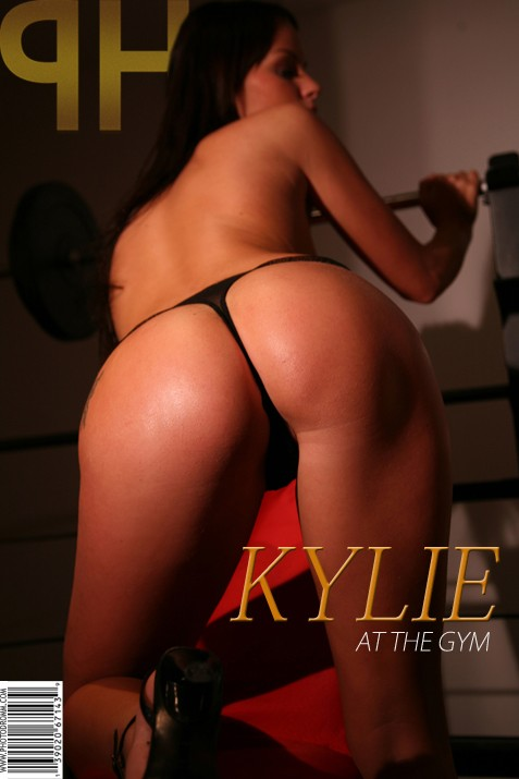 Kylie - `At The Gym` - by Filippo Sano for PHOTODROMM ARCHIVES
